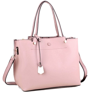 BY4150 Multi Compartment Classy 2 Way Satchel Mauve