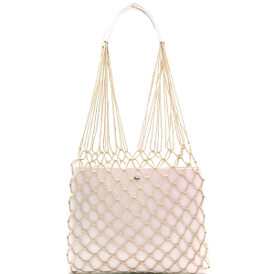 PPC6432 Unique Net Cutout 2 in 1 Hobo White