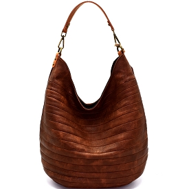 CJF023 Embossed Two-Tone Hobo Brown