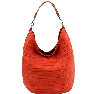 CJF023 Embossed Two-Tone Hobo Orange