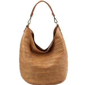 CJF023 Embossed Two-Tone Hobo Sand