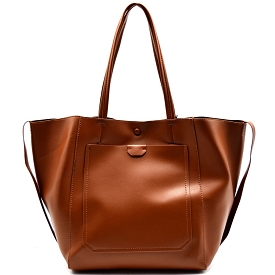 TWD0001 Twenty Nine Oversized Side String Light-weight Tote Brown