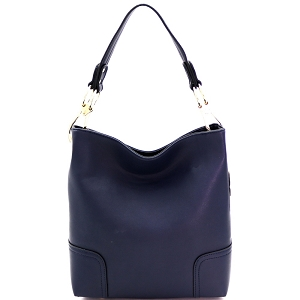 BW1348B Large Side Ring Snap Hook Classic Hobo Navy