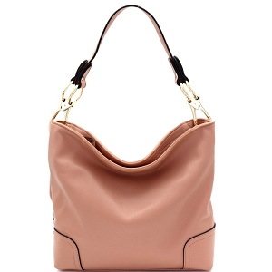 SS3754 Large Side Ring Snap Hook Classic Hobo Mauve