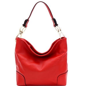 SS3754 Large Side Ring Snap Hook Classic Hobo Red